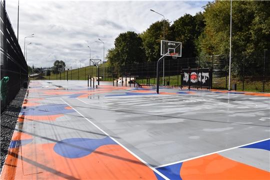 12 сентября в Чебоксарах откроется Центр уличного баскетбола