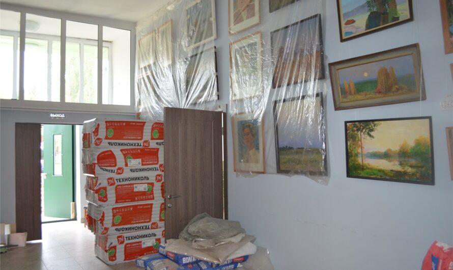 В Мариинско-Посадском районе капитально модернизируют Октябрьскую детскую школу искусств