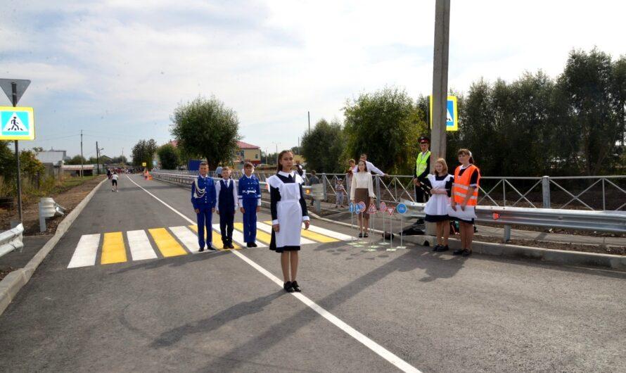 В селе Батырево открыли дорогу, ведущую к новому корпусу начальной школы