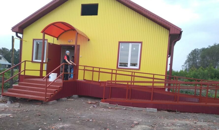 В Шемуршинском районе готовится к открытию новый фельдшерско-акушерский пункт