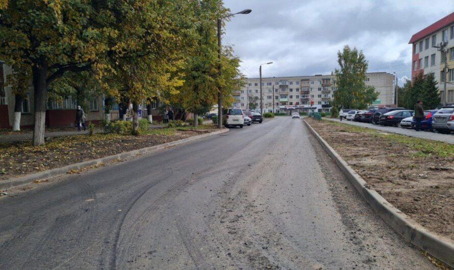 В Новочебоксарске отремонтировали дорогу по улице Солнечной