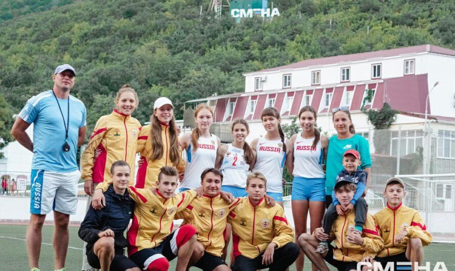 Команда Цивильской СОШ № 1 — победитель Президентских спортивных игр